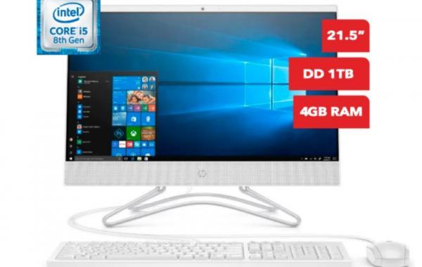 Computadora TODO EN UNO HP 22-C020LA