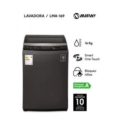LAVADORA MIRAY 16 KG - LMA-169
